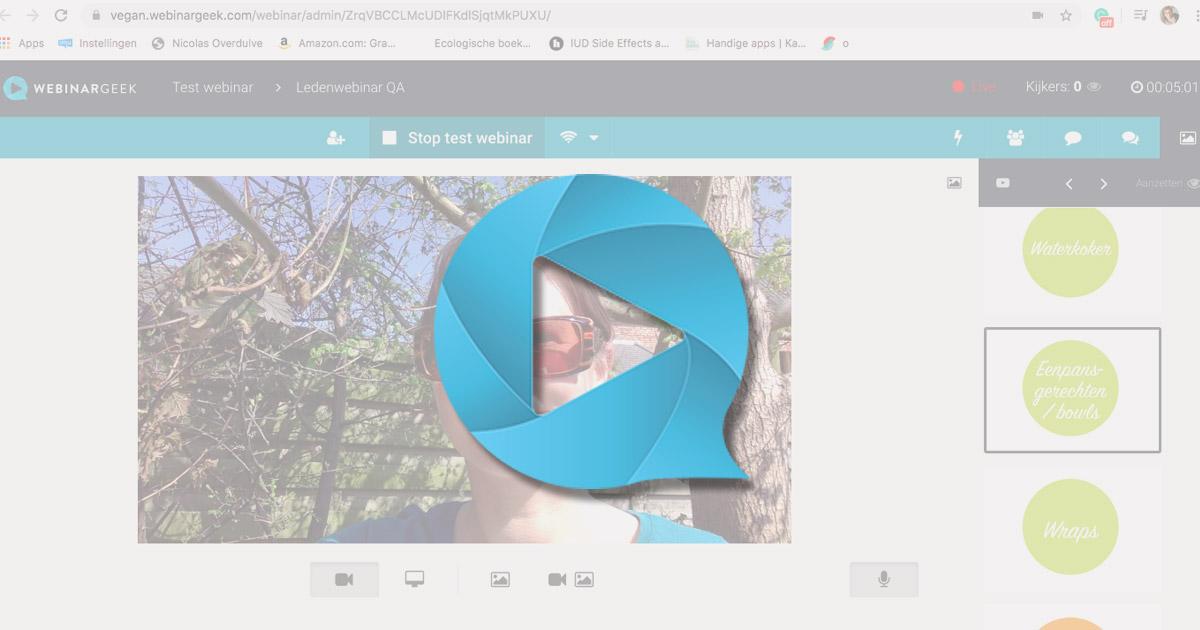Webinargeek review -Nederlandstalige webinar software