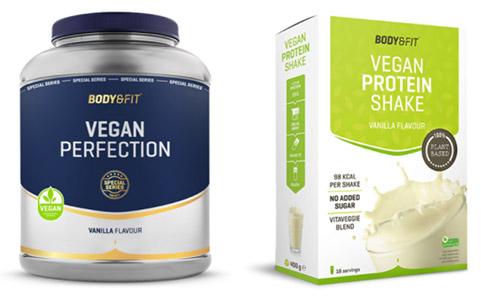 Body&fit - vegan eiwitpoeder