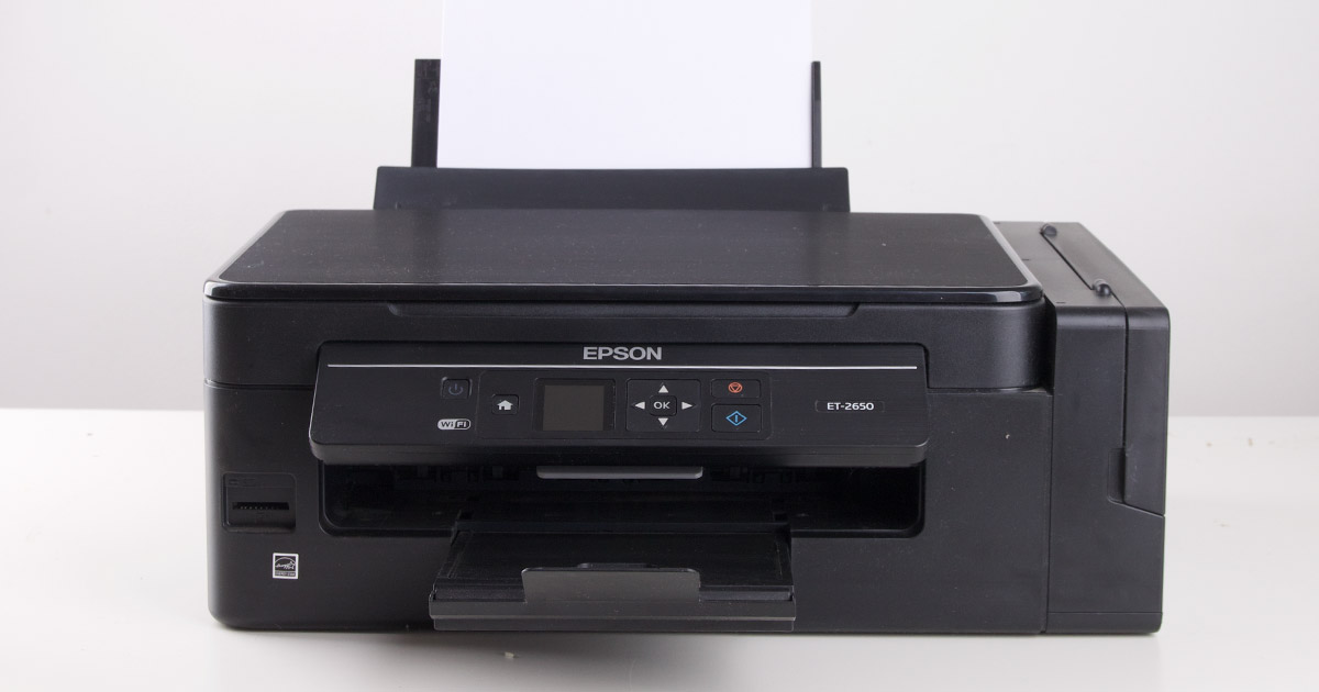 Epson Ecotank ET-2650 (review)