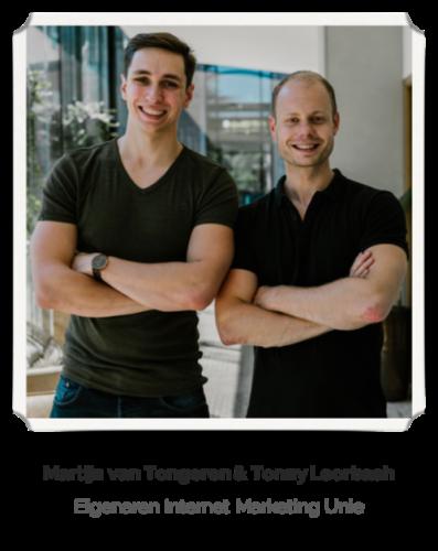 Tonny Loorbach en Martijn van Tongeren van IMU
