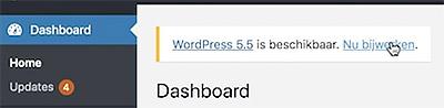 Wordpress bijwerken