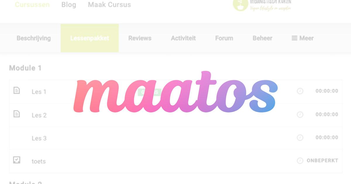 Maatos review