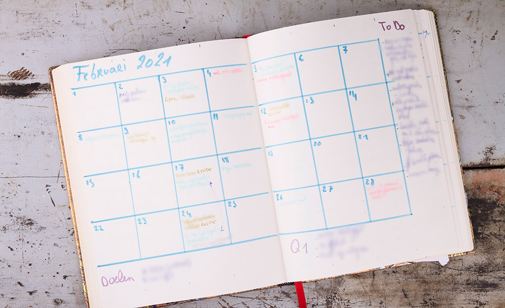 Blogplanning / contentplanning maken