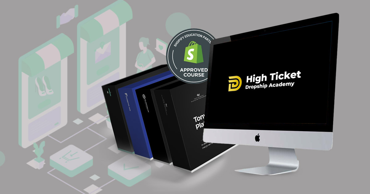 High ticket dropship academy - review - Joshua Kaats
